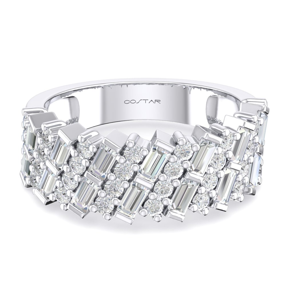 Fancy Diamond Bands