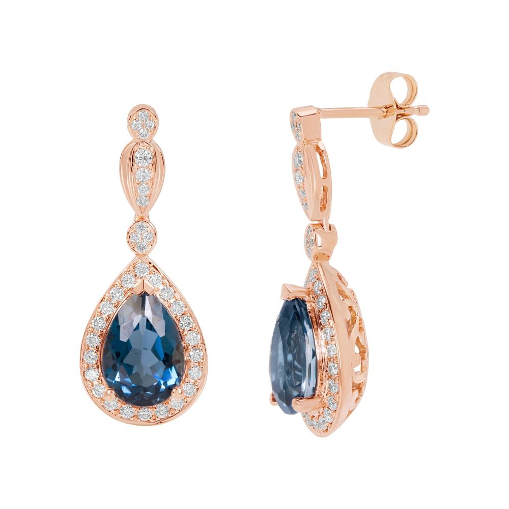London Blue Earrings