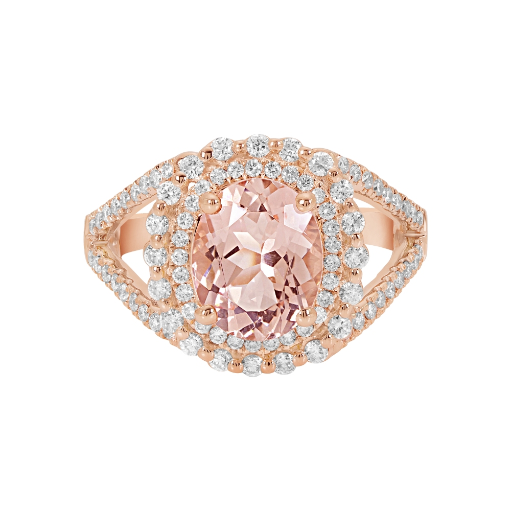 Morganite Fashion Rings