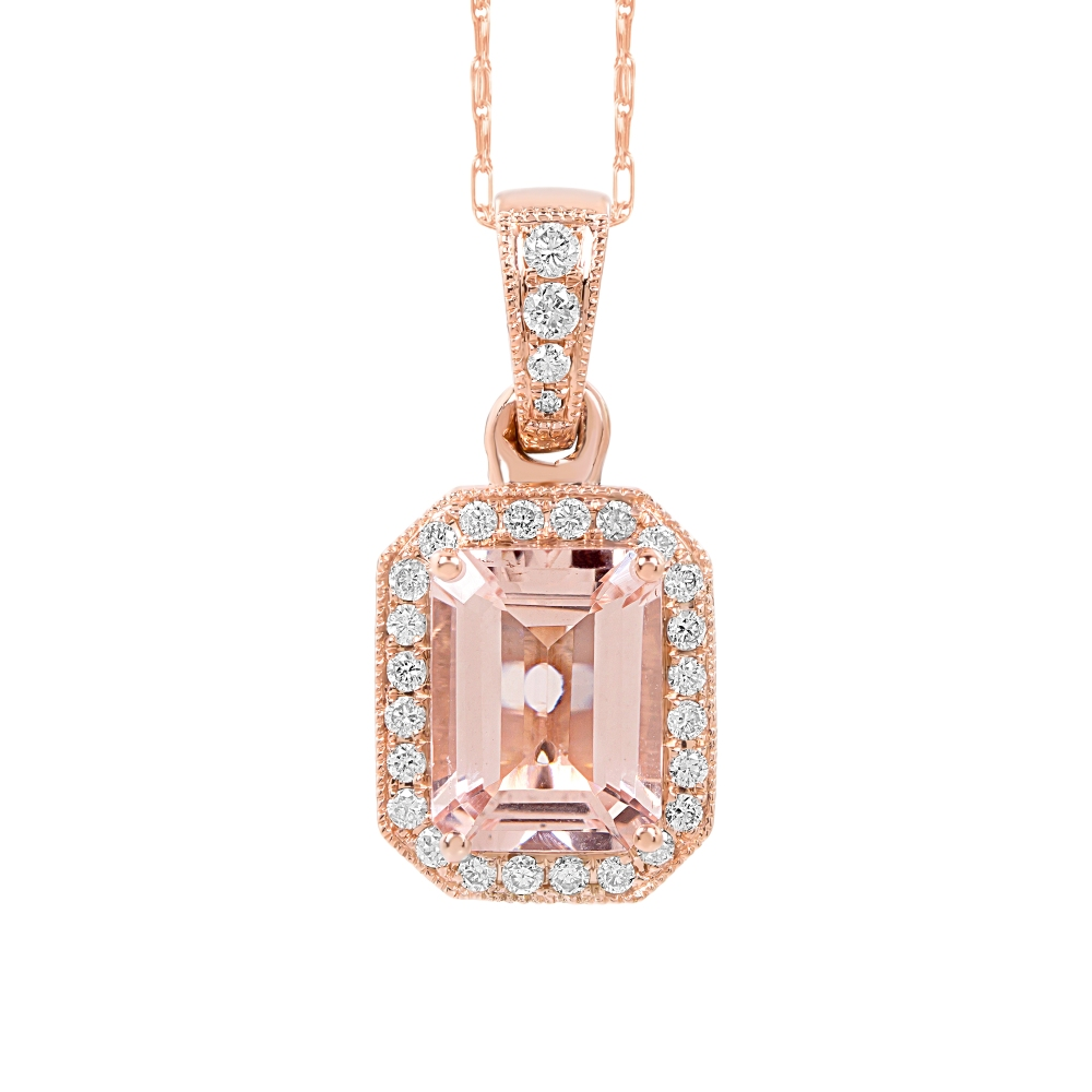 Morganite Pendants