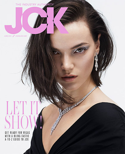 JCK Magazine Cover - Vol 149 No. 4 June 2018
