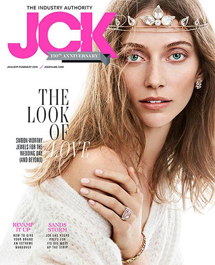 JCK Magazine Cover - Vol 150 No. 1 January & February 2019